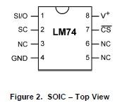LM74PinOut